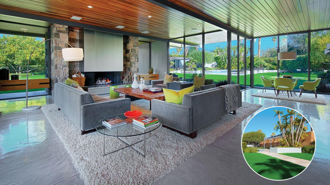 Leonardo DiCaprio Palm Springs Home - H 2014