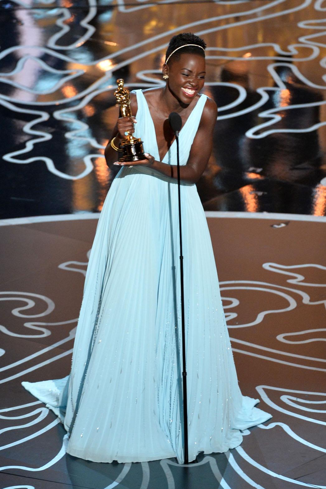 Lupita Oscar Win - P 2014