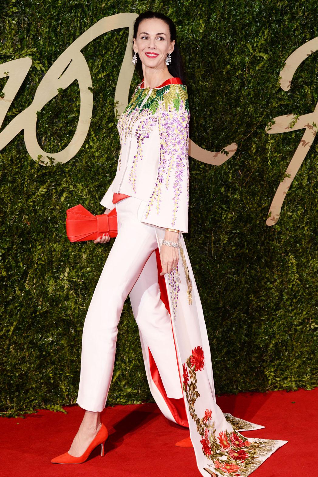 L'Wren Scott British Fashion Awards - P 2014