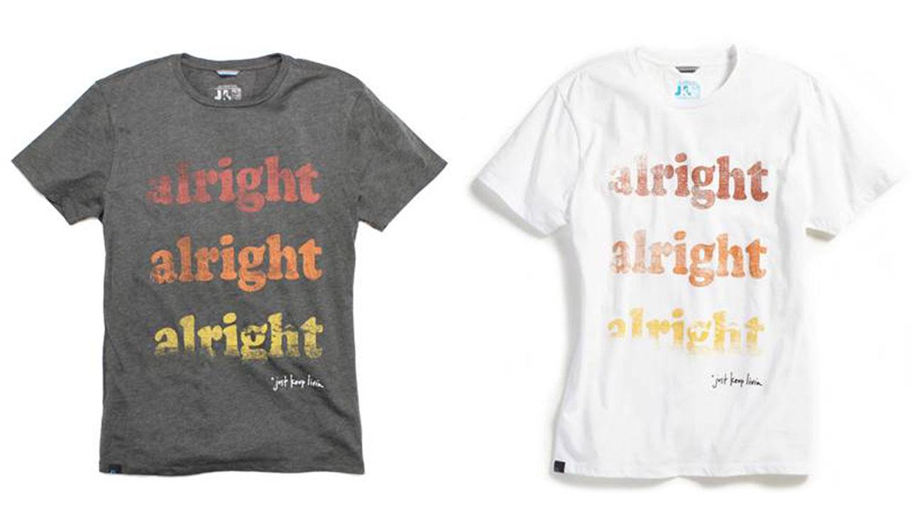 Matthew McConaughey Alright T-Shirt - H 2014
