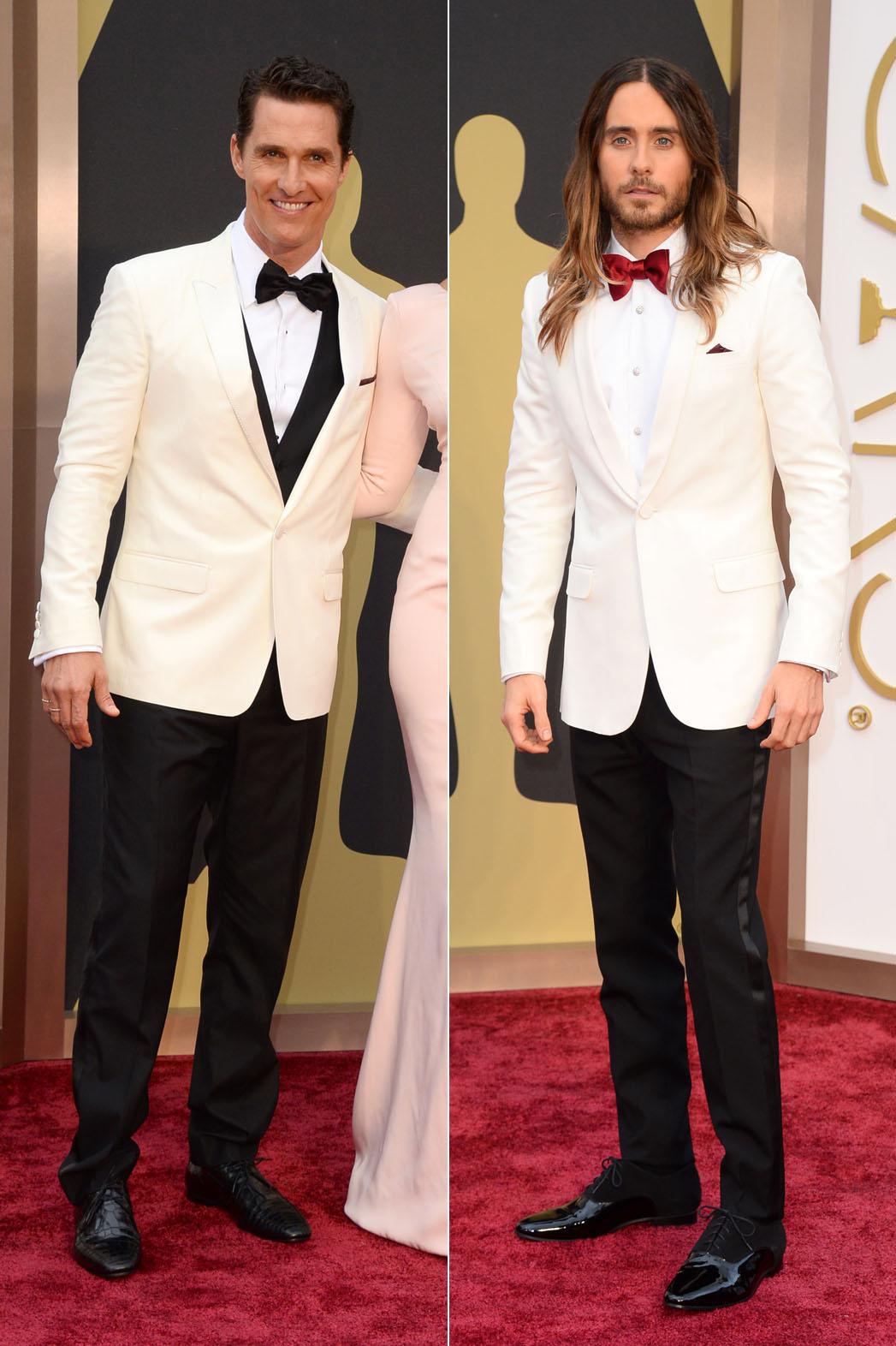 Jared Leto Oscars Red Carpet