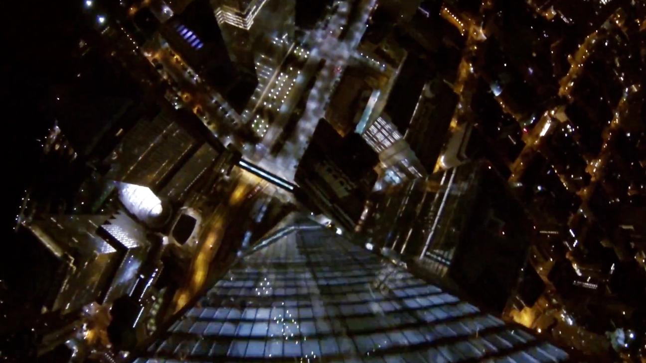 NYC Base Jump Screengrab - H 2014