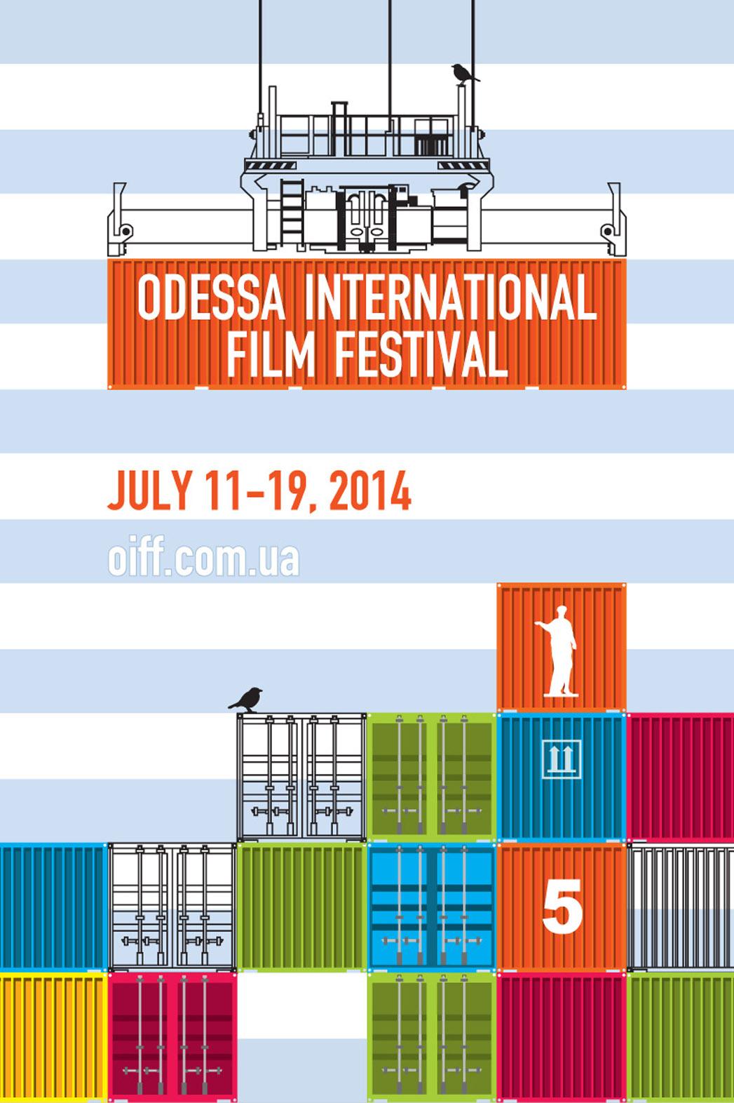 Odessa Film Festival 5th edition poster - P 2014