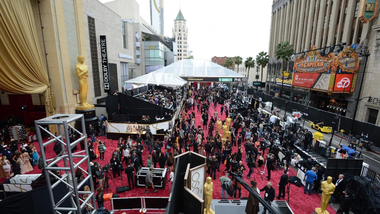 Oscars Red Carpet Prep - H - 2014