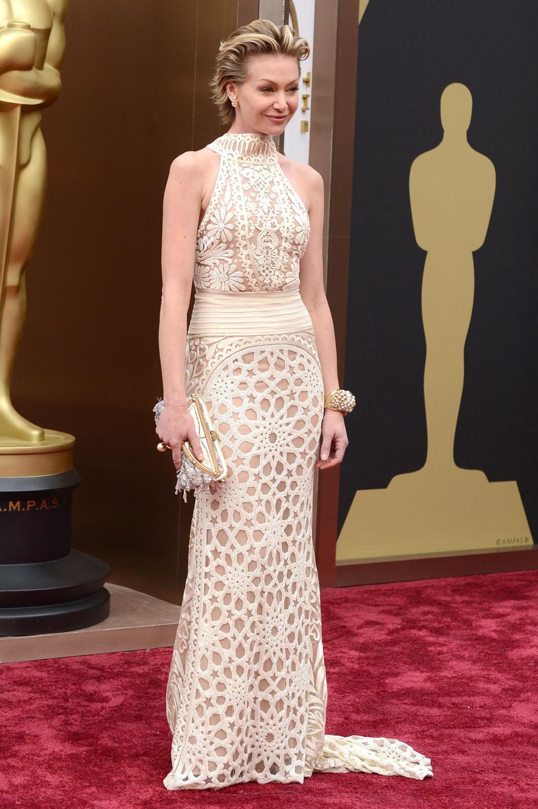 Pearls on the Red Carpet Portia de Rossi - P 2014