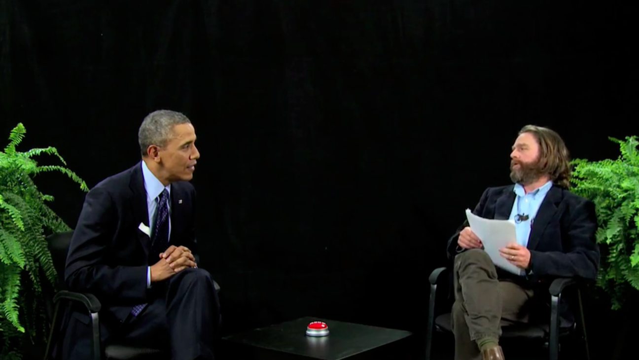 President Obama Between Two Ferns - H