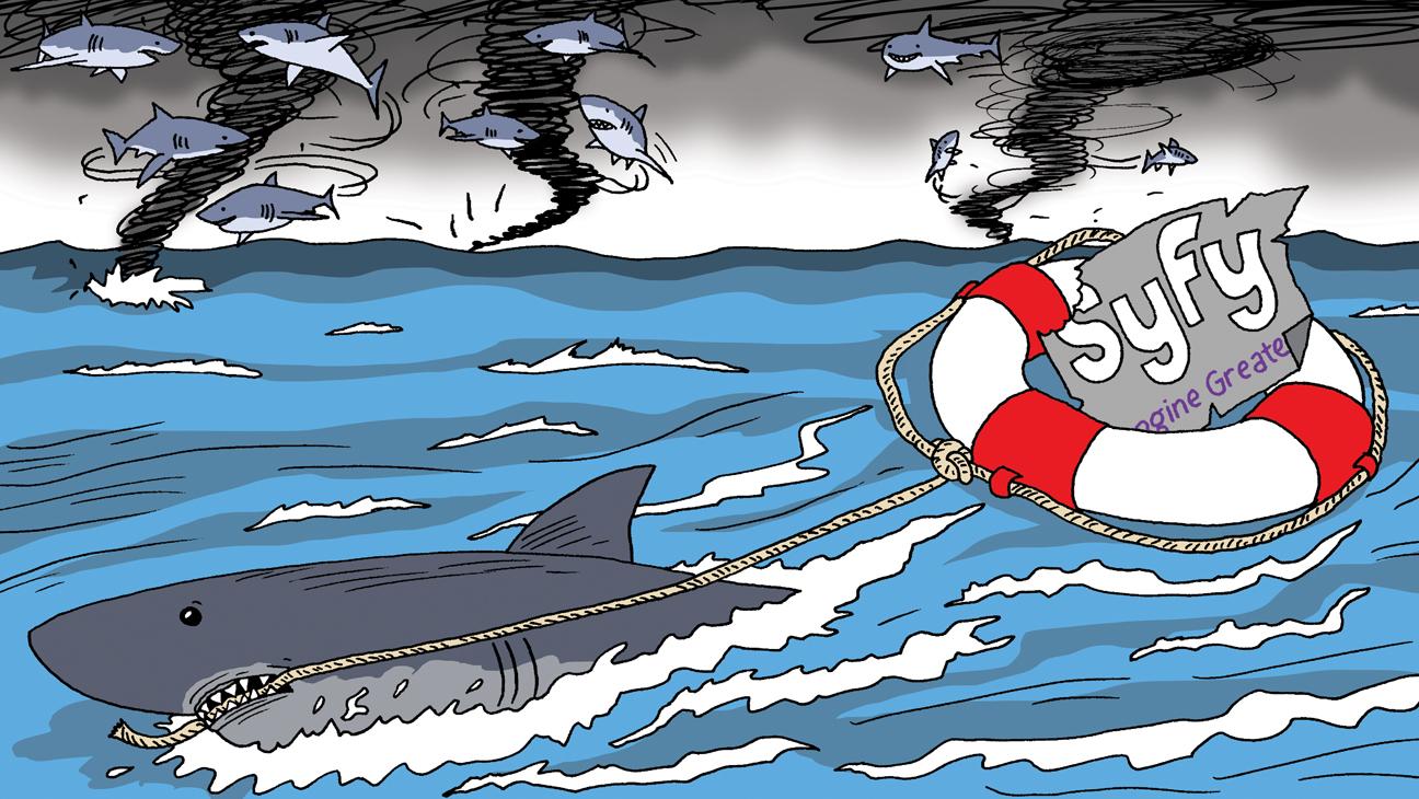 Issue 11 BIZ Sharknado Illustration - H 2014