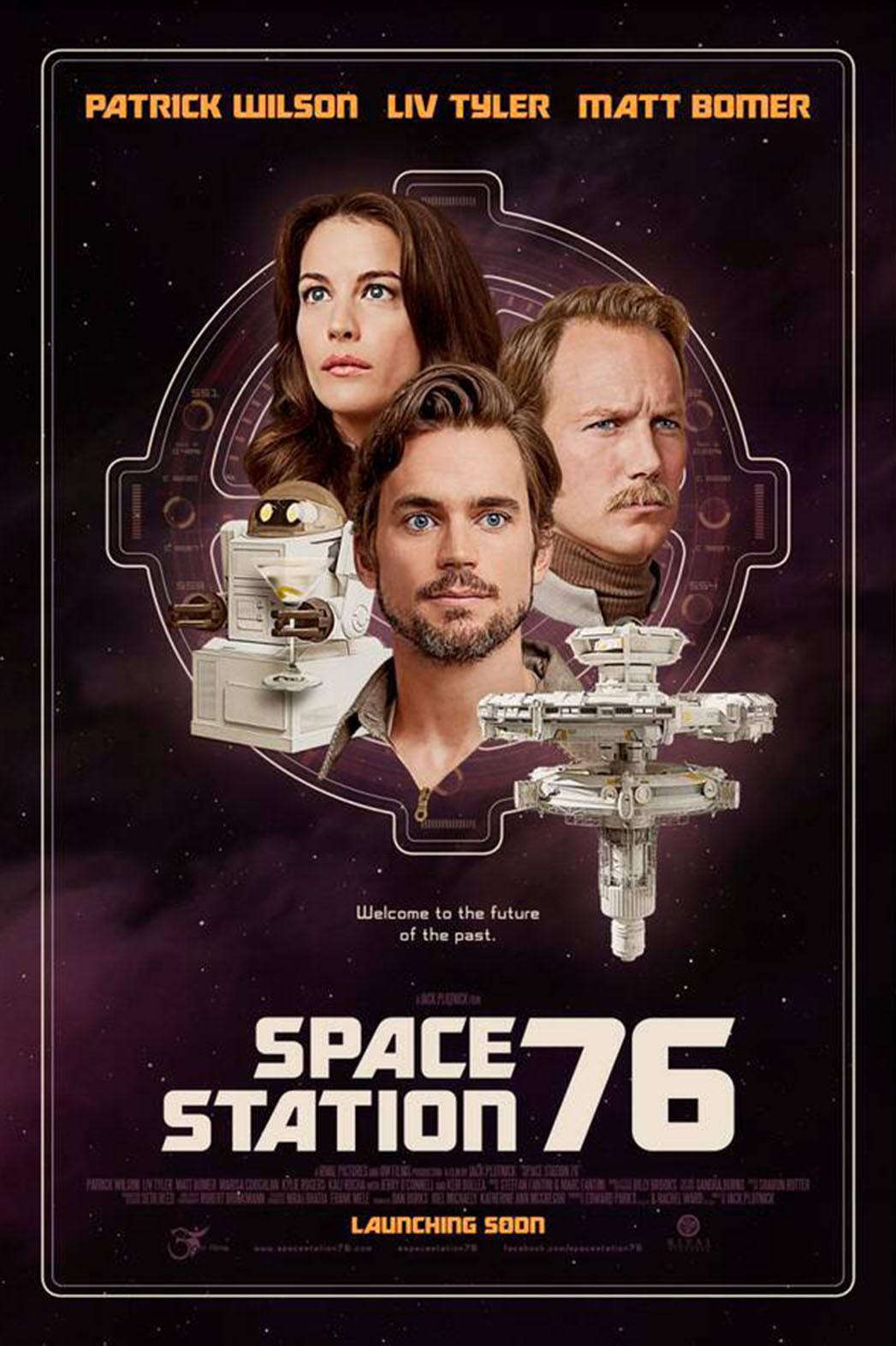 Space Station 76 Poster - P 2014
