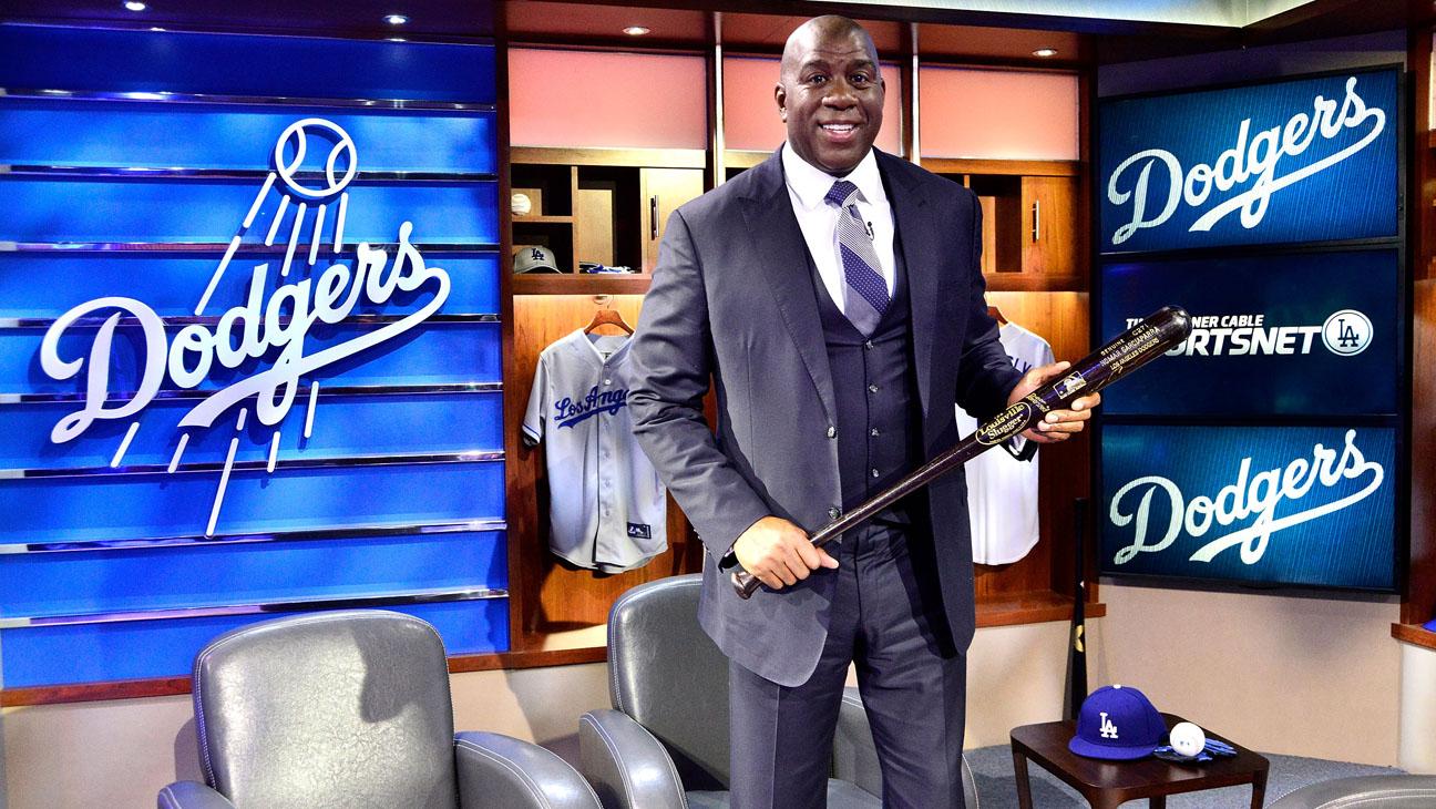 SportsNetLA Dodger Cable Channel Magic Johnson - H 2014