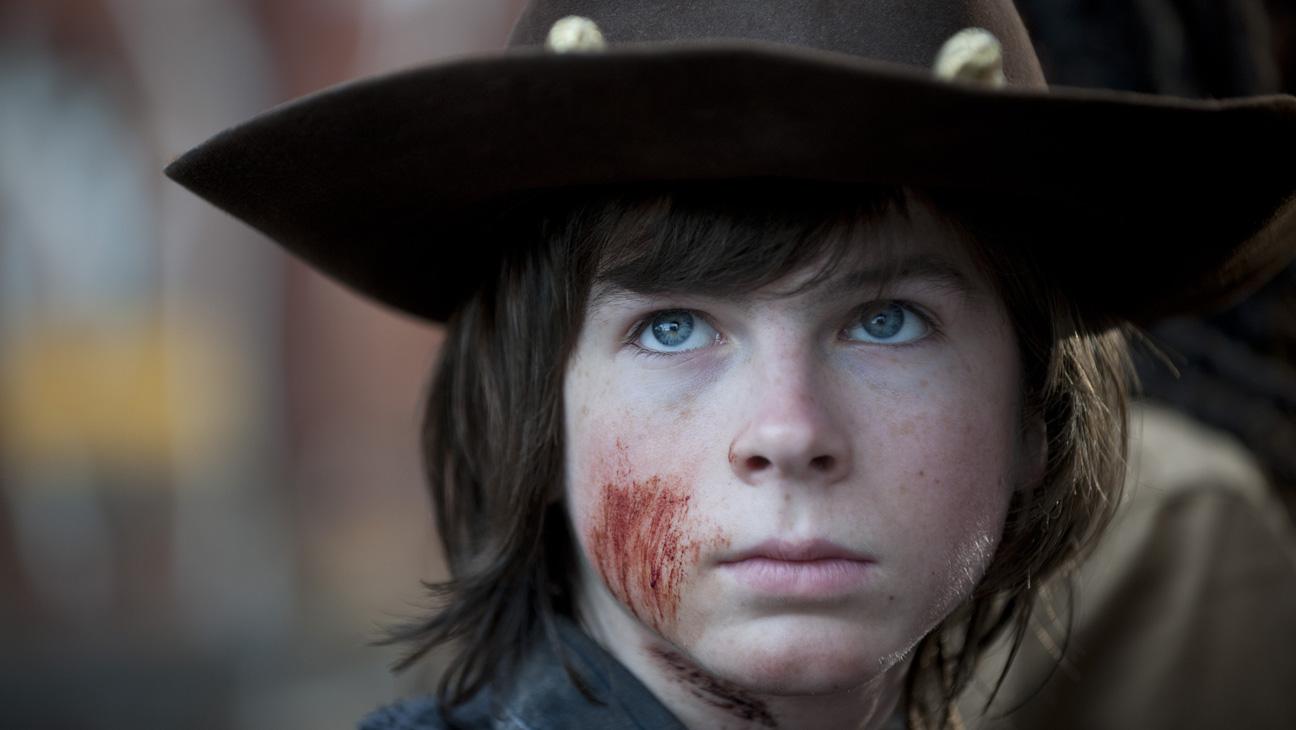 The Walking Dead Season 4 Finale Episodic Carl - H 2014