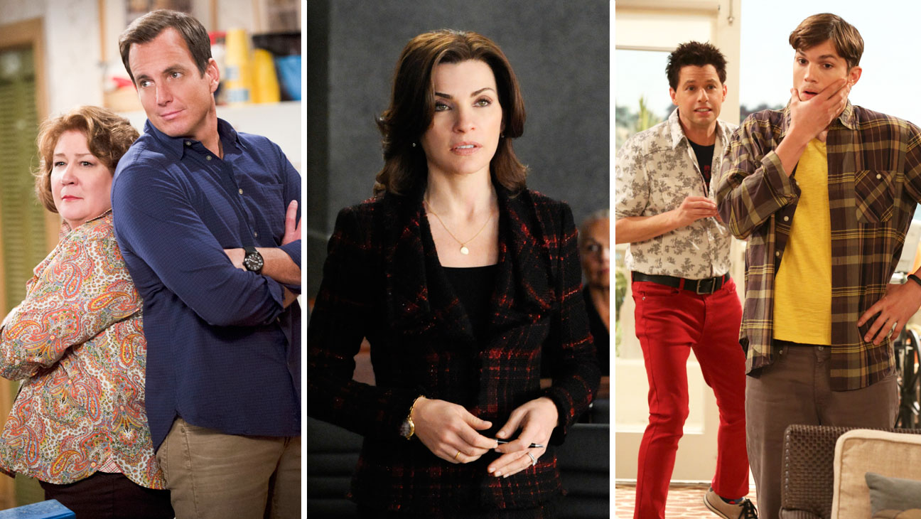 We're The Millers The Good Wife Two and a Half Men - H 2014