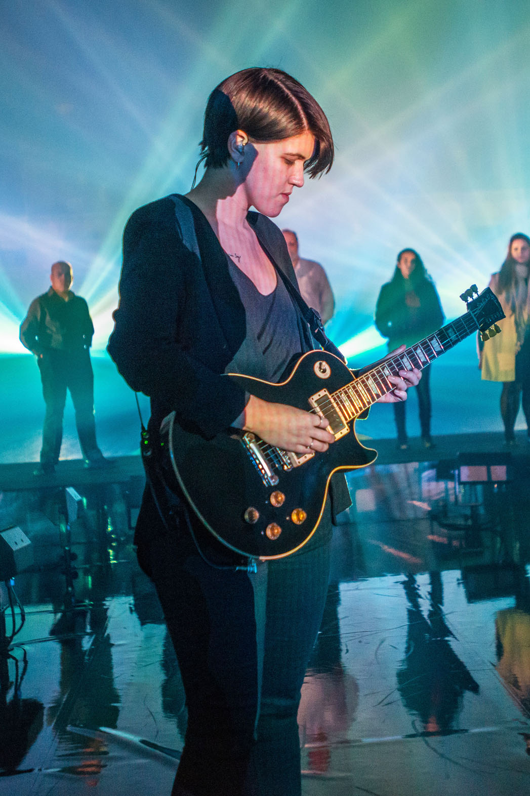 The XX Performing at Park Avenue Armory - P 2014