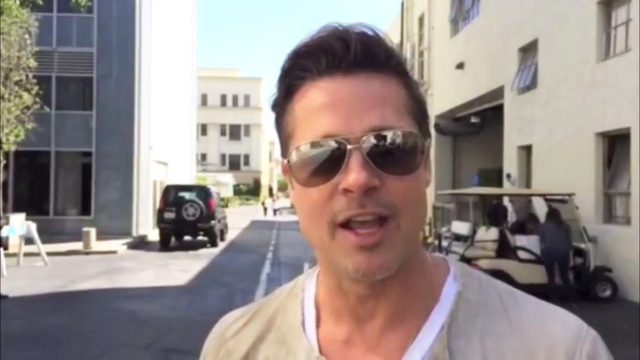 Brad Pitt Make It Right Gala Screengrab - H 2014