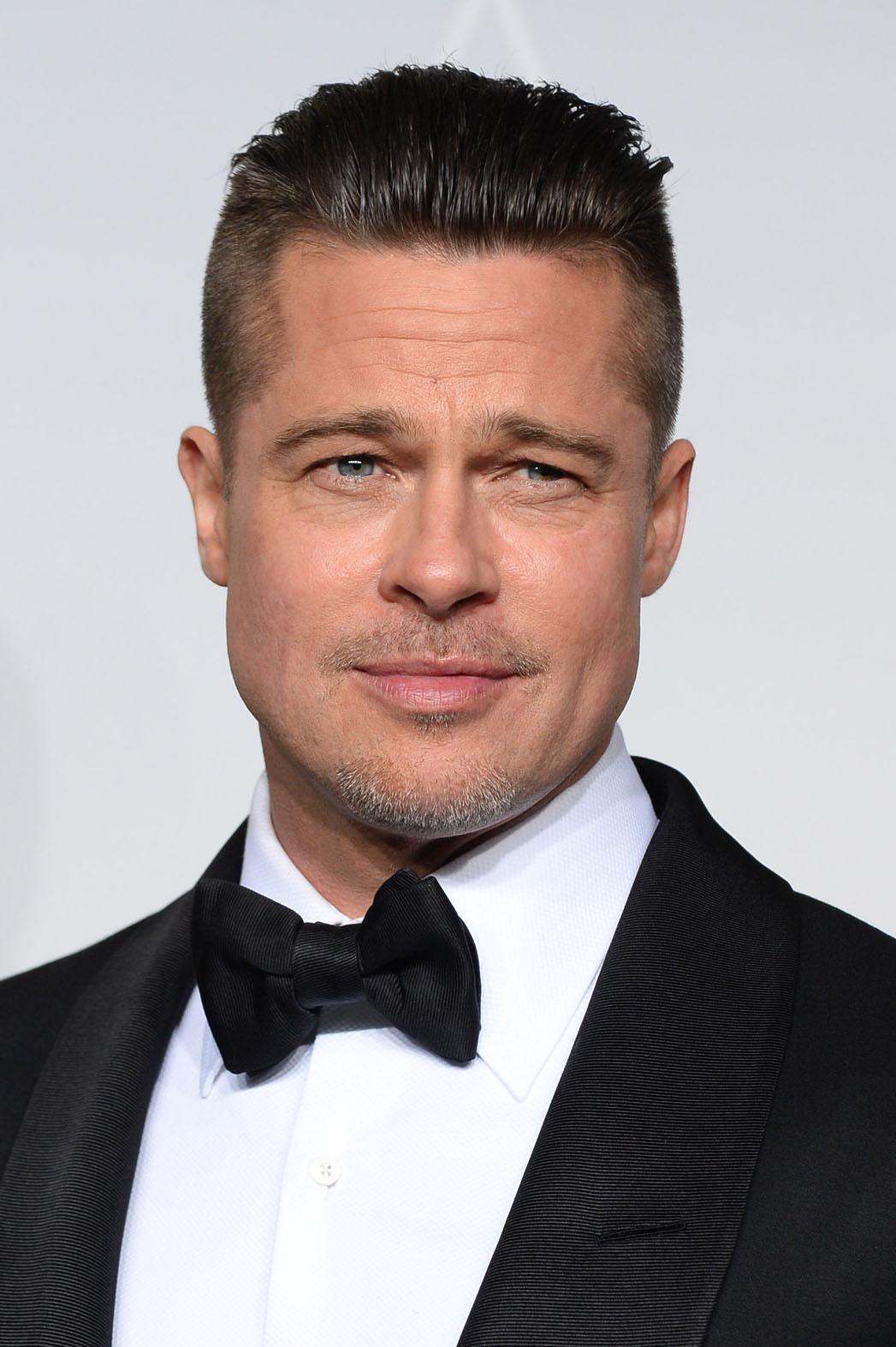 Brad Pitt Oscars Headshot - P 2014