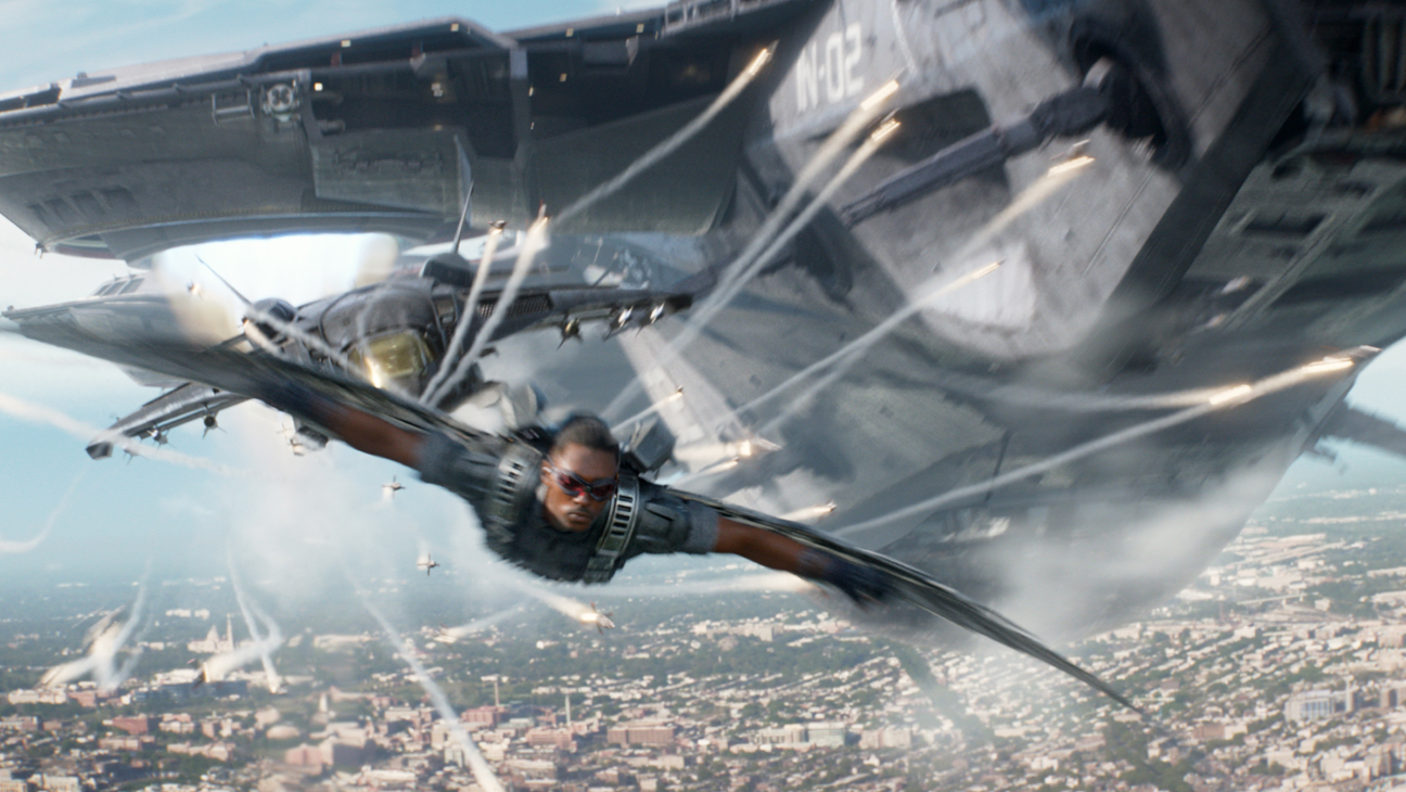 Captain America: The Winter Soldier Mackie in Air - H 2014