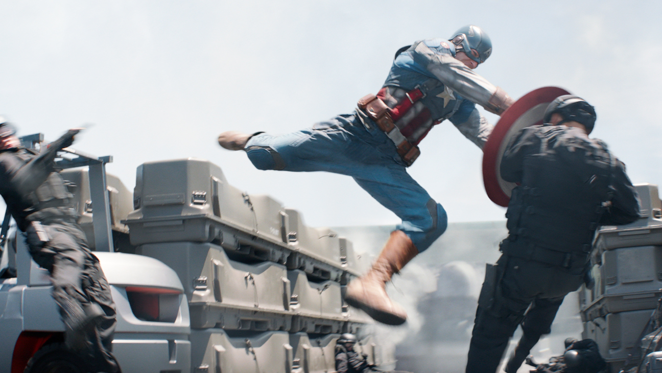 Captain America: The Winter Soldier Evans in Air - H 2014
