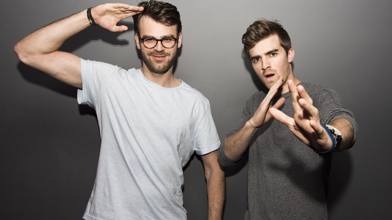 The Chainsmokers PR for MTV - H 2014