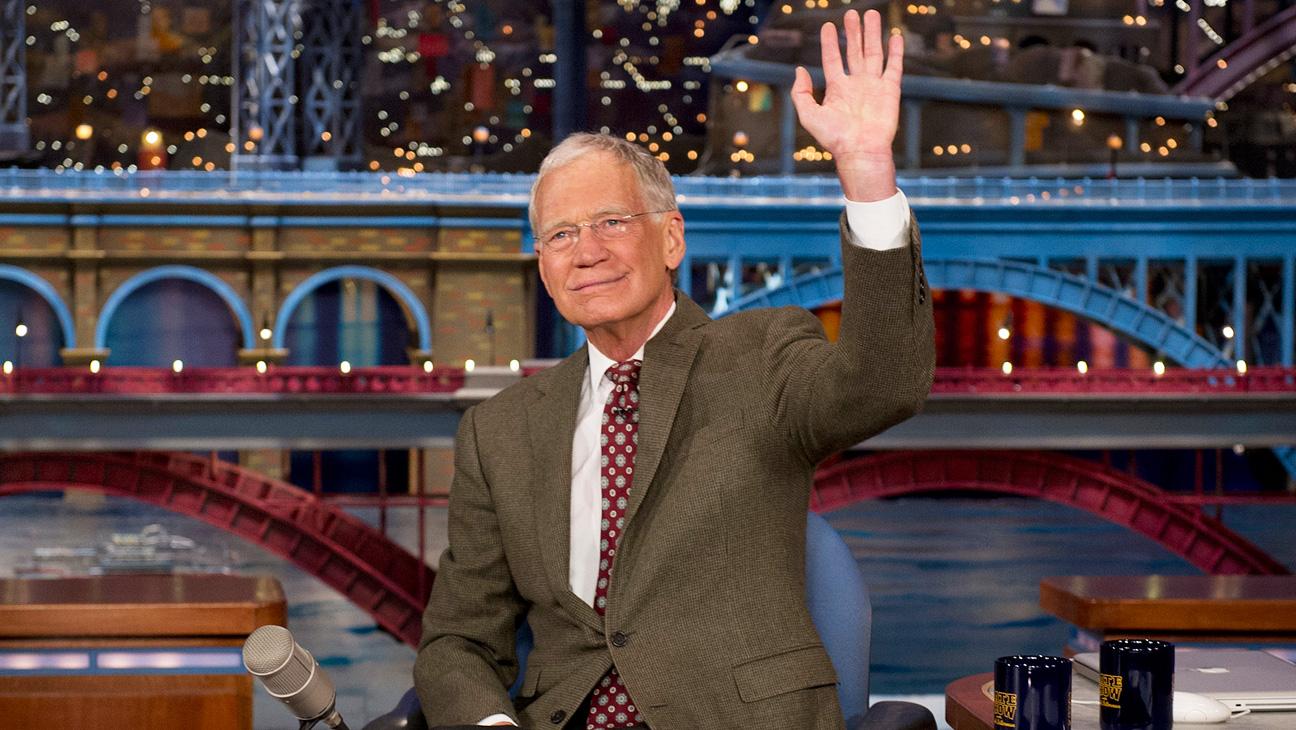 David Letterman Retirement Announcement - H 2014