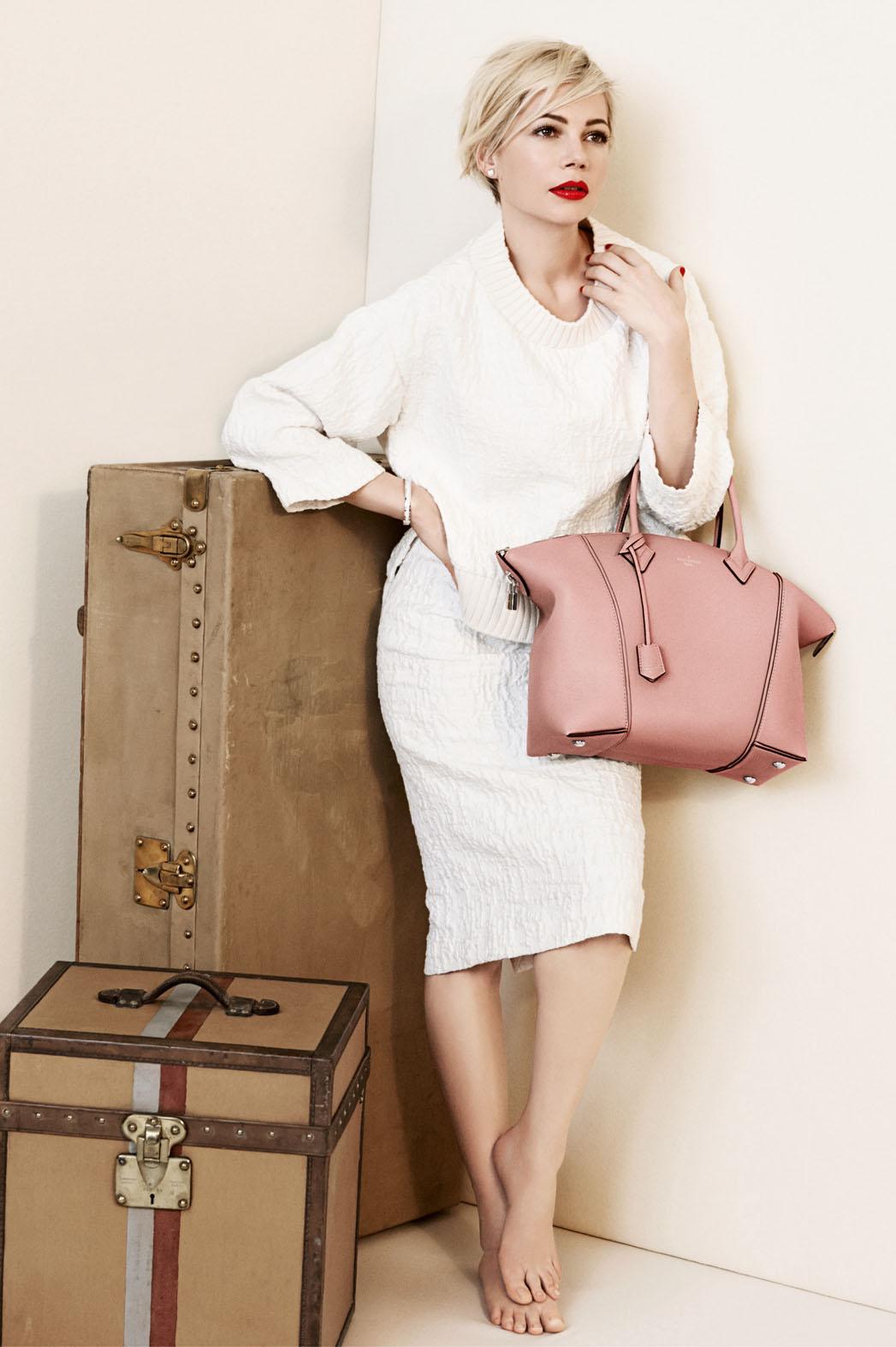 Michelle Williams Louis Vuitton Ad Campaign - P 2014