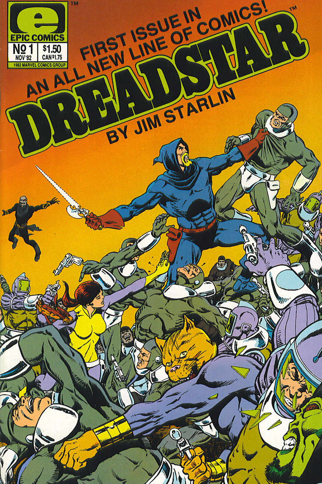 Dreadstar #1 Cover - P 2014
