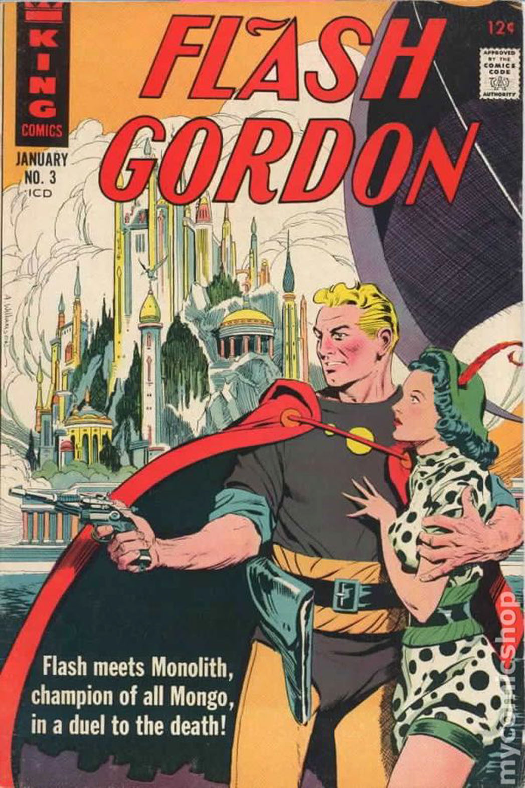 Flash Gordon Comic Cover - P 2014