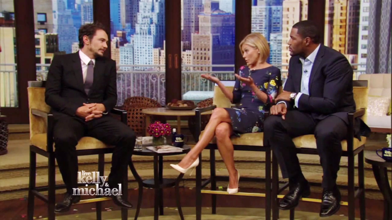 James Franco on Kelly and Michael - H 2014