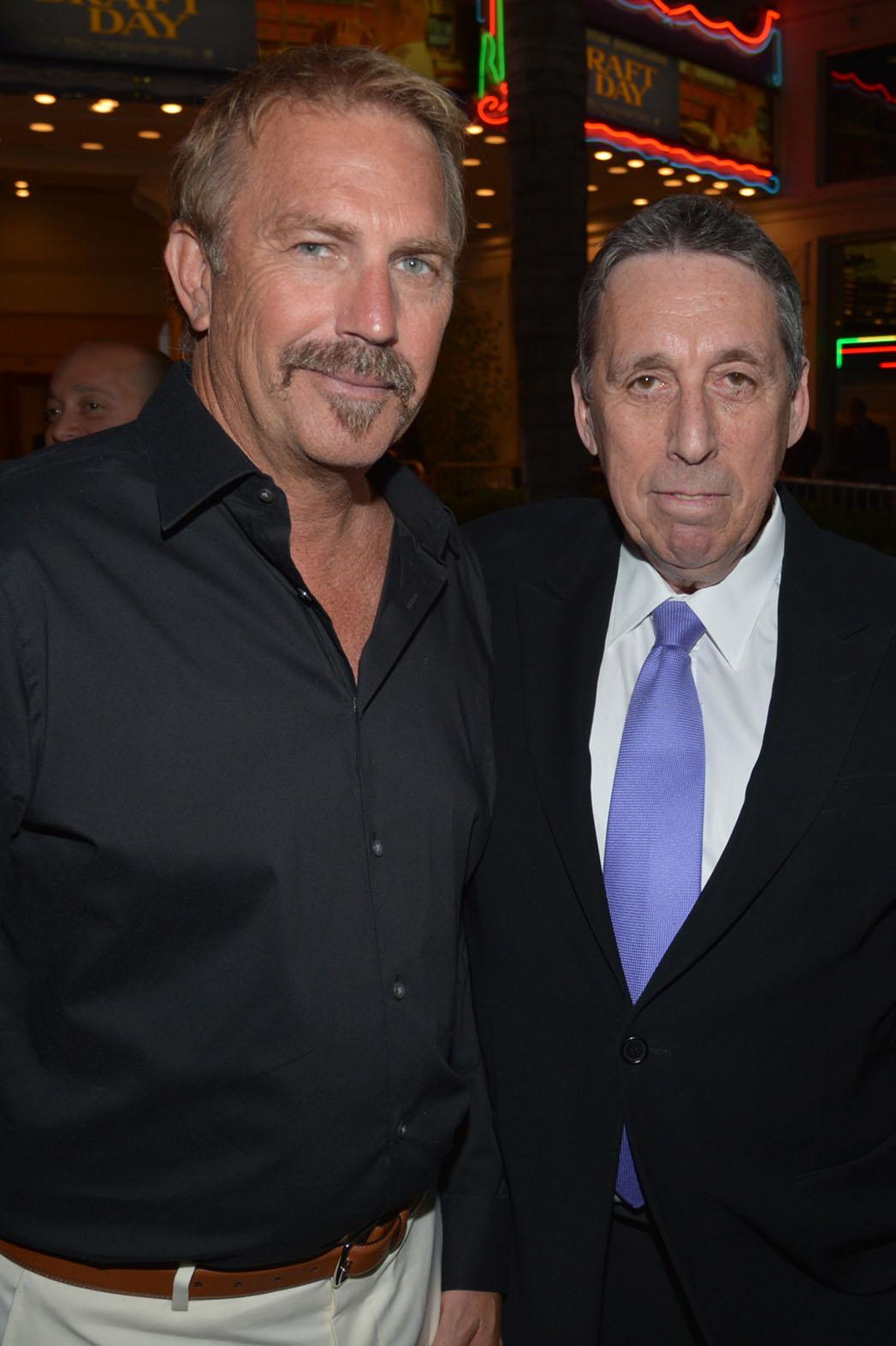 Kevin Costner and Ivan Reitman