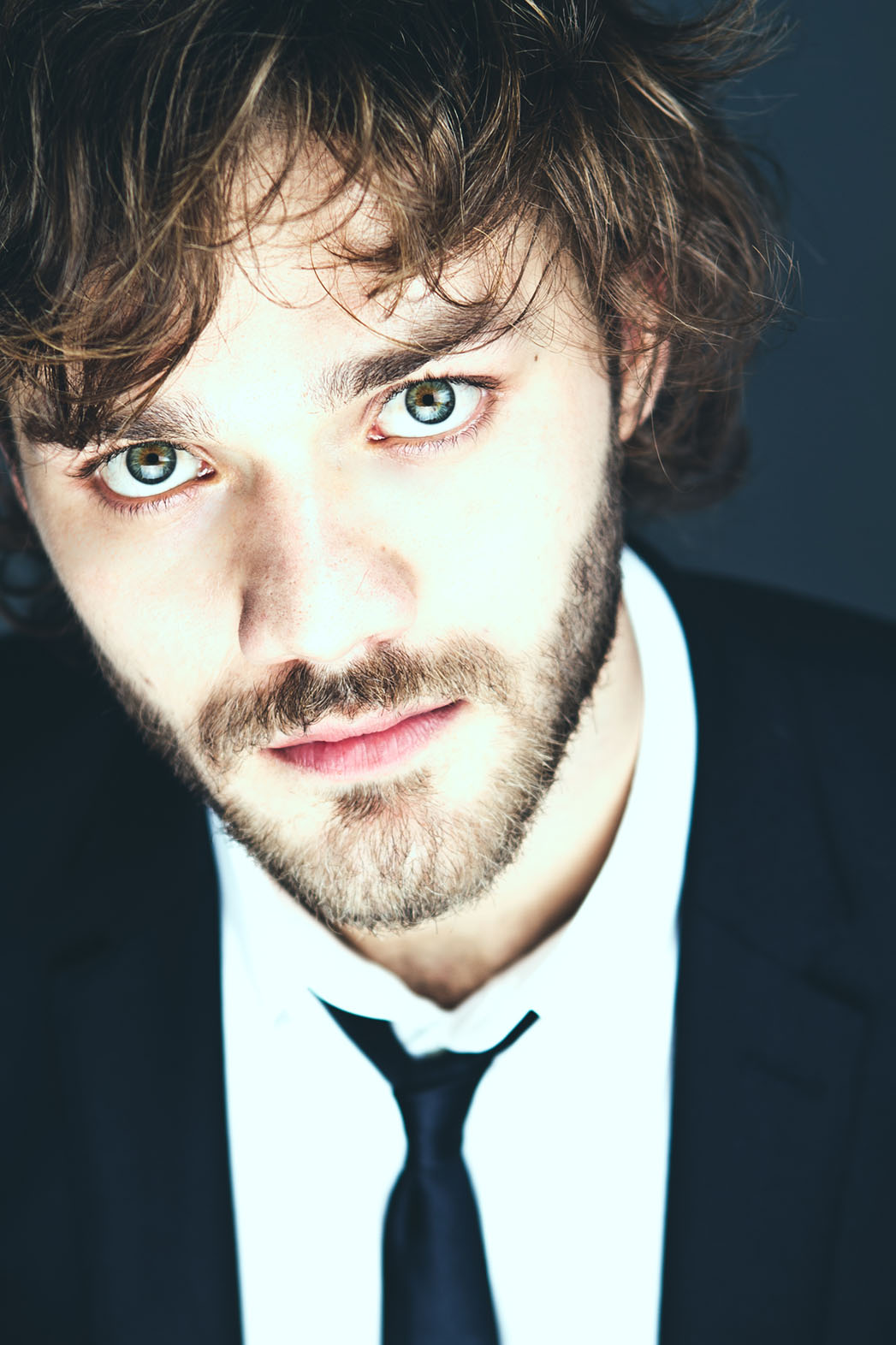 Lorenzo Richelmy Charms in Formal Emporio Armani Look at