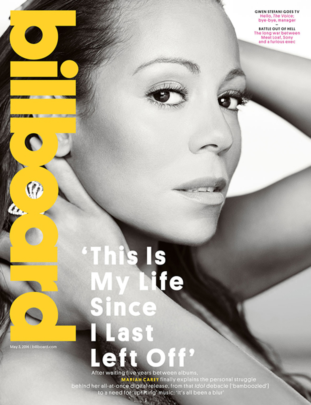 Mariah Carey Billboard Cover - P 2014