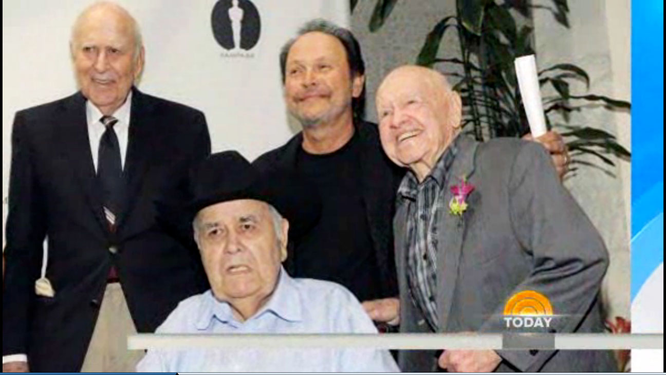 Billy Crystal Mickey Rooney Today Screengrab - H 2014