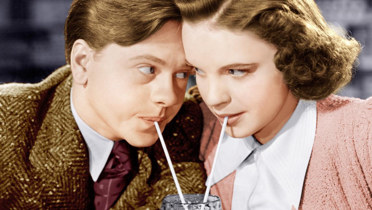 Mickey Rooney Judy Garland Still - H 2014
