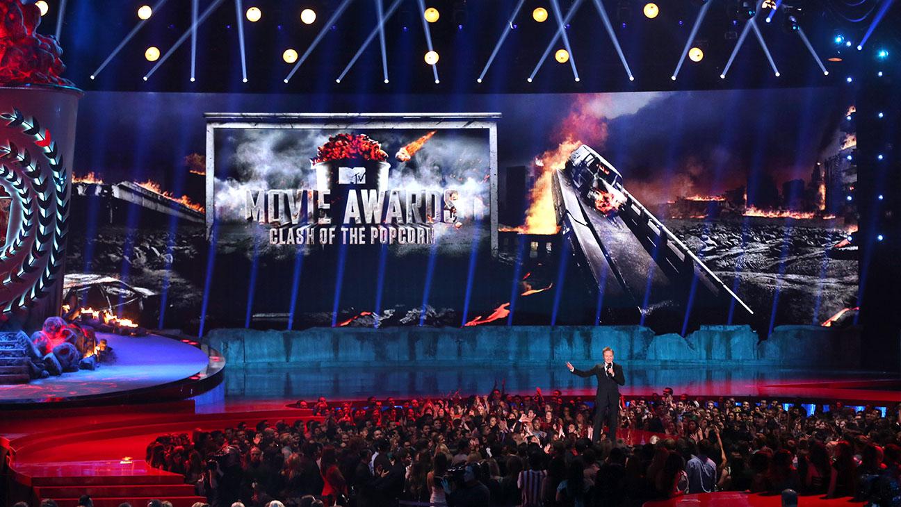 MTV Movie Awards Stage Conan Intro - H 2014