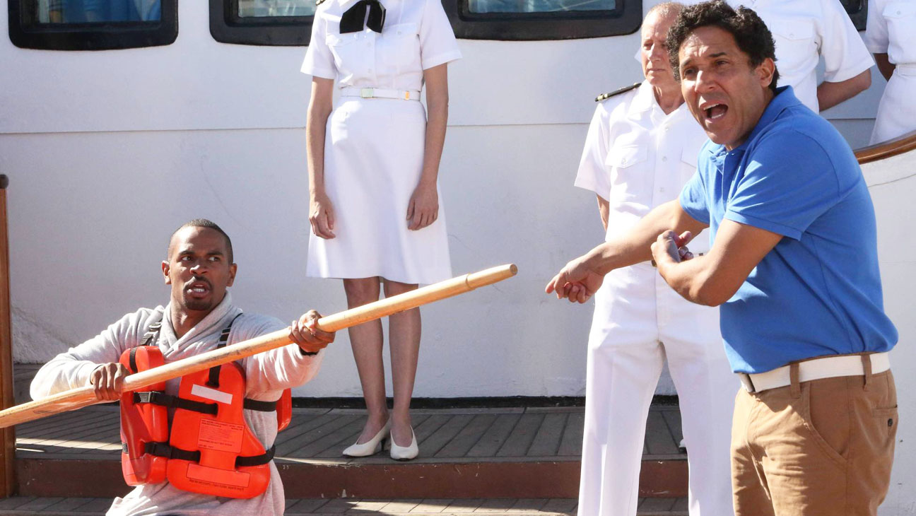New Girl Episodic Damon Wayans Jr. Boat - H 2014