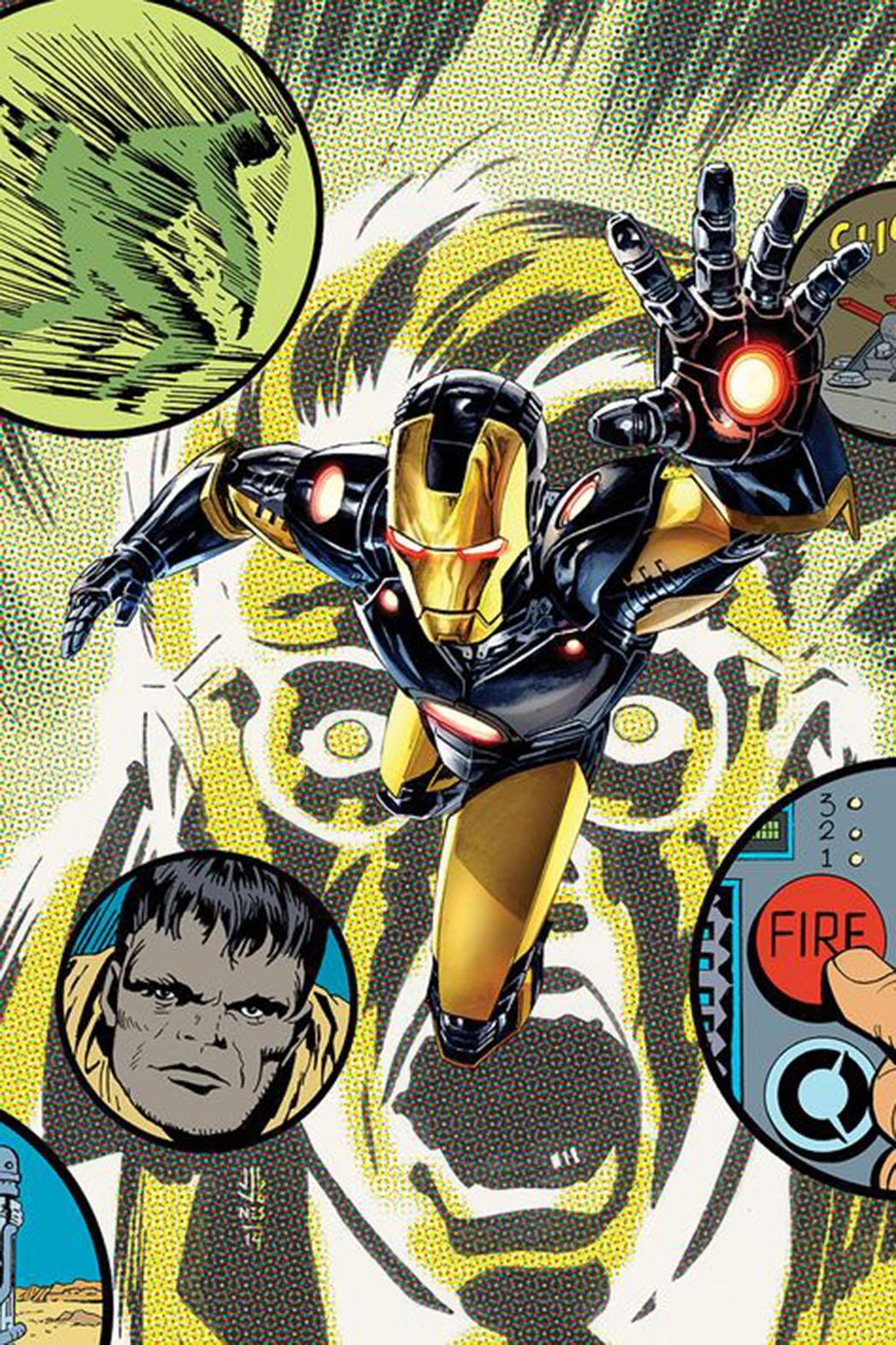 Original Sin Iron Man Hulk Promo - P 2014