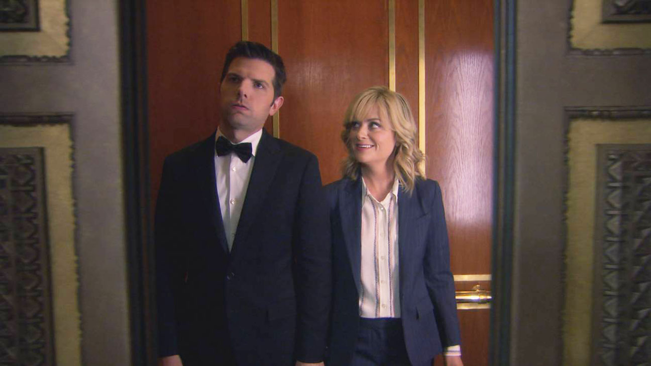 Parks and Recreation Season 6 Finale Screengrab Poehler Scott - H 2014