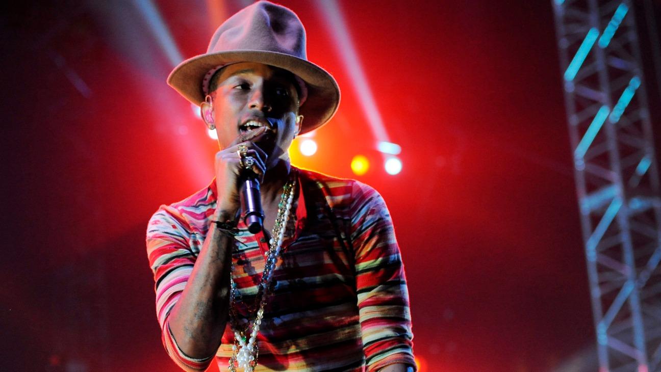Pharrell Coachella - H - 2014