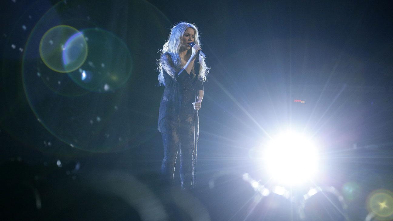 Shakira The Voice 4/22 - H 2014