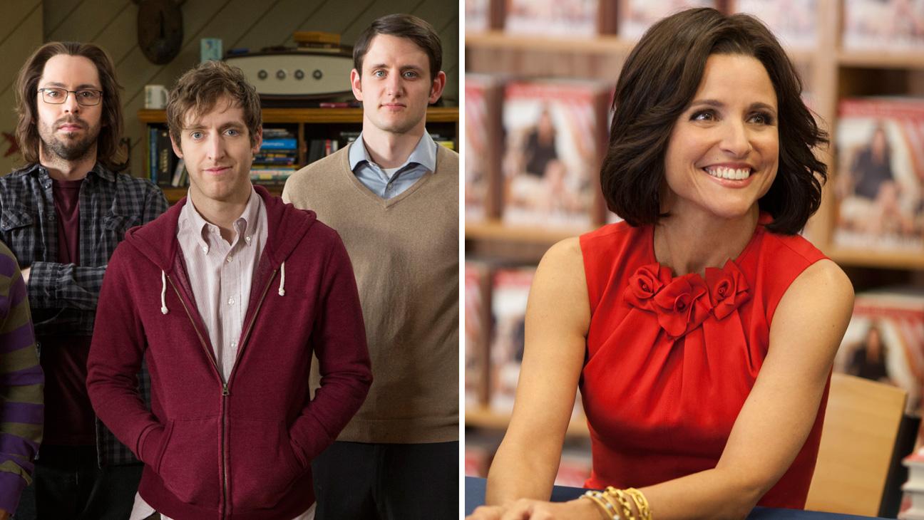 Silicon Valley Episodic Cast VEEP Split - H 2014