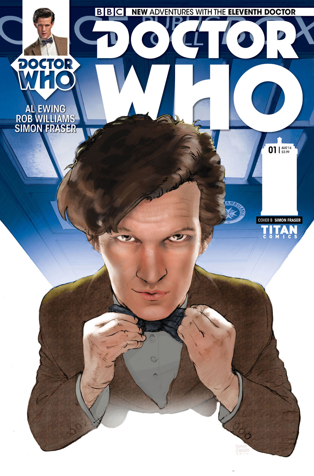 Doctor Who Comic Cover - P 2014