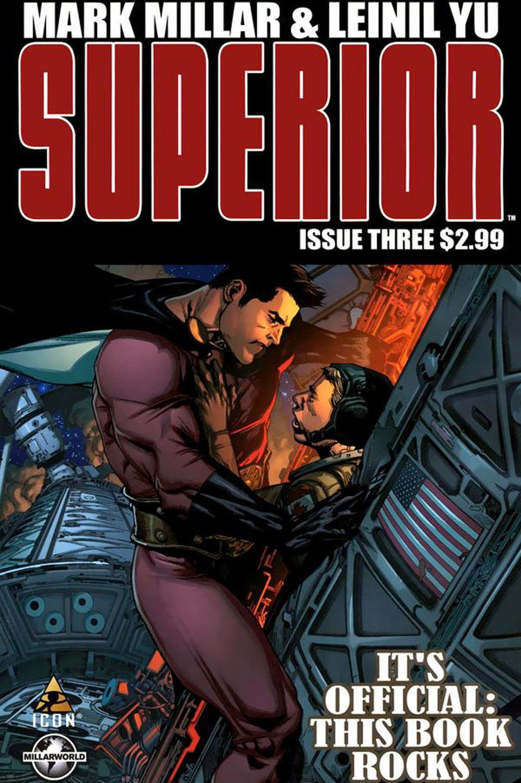 Superior Comic Book Cover by Mark Millar - P 2014