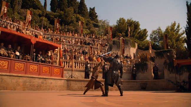 Mountain Oberyn Game of Thrones - H 2014