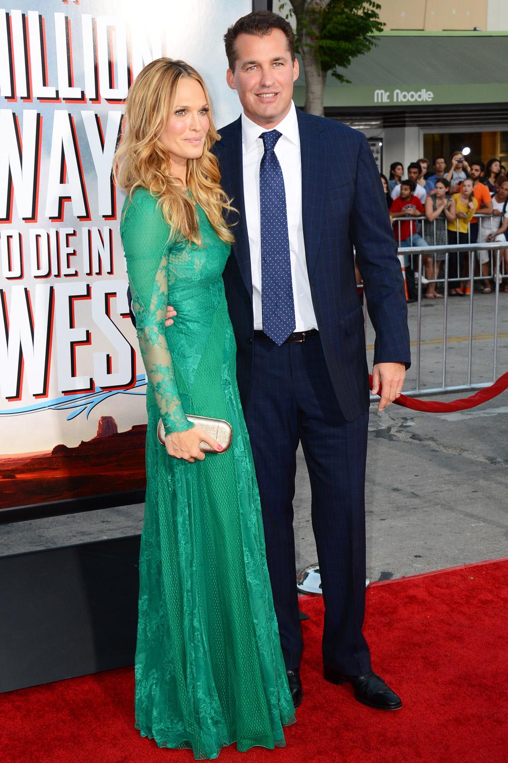 Molly Sims and Scott Stuber