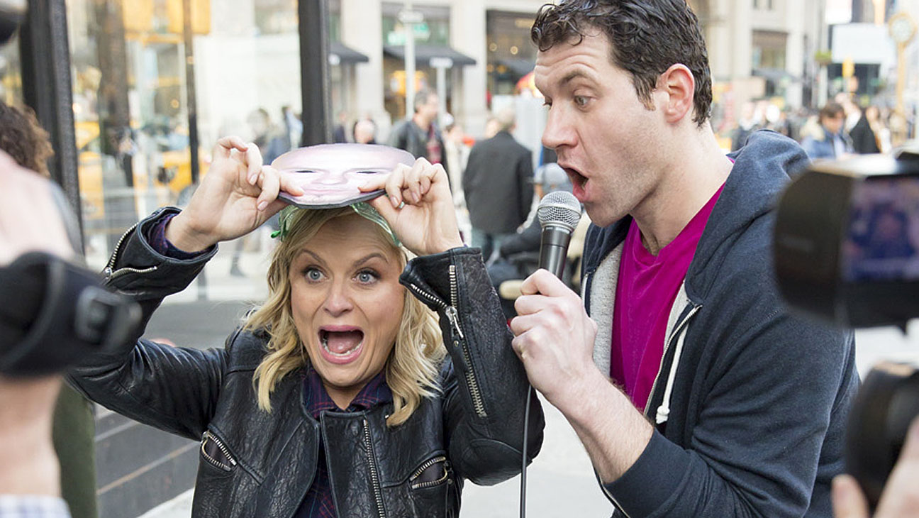 Amy Poehler Billy Eichner - H 2014