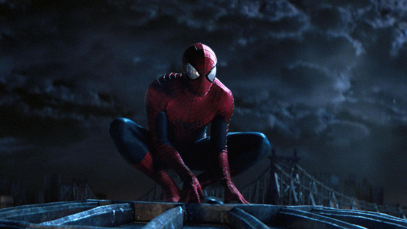 The Amazing Spider-Man 2 Garfield on Building Night - H 2014