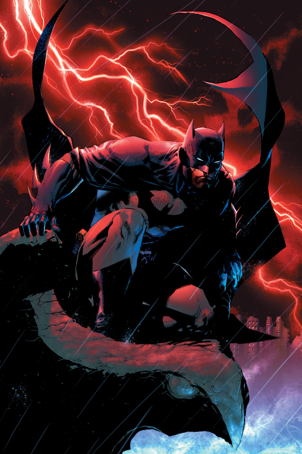Batman for THR Illustration - P 2014