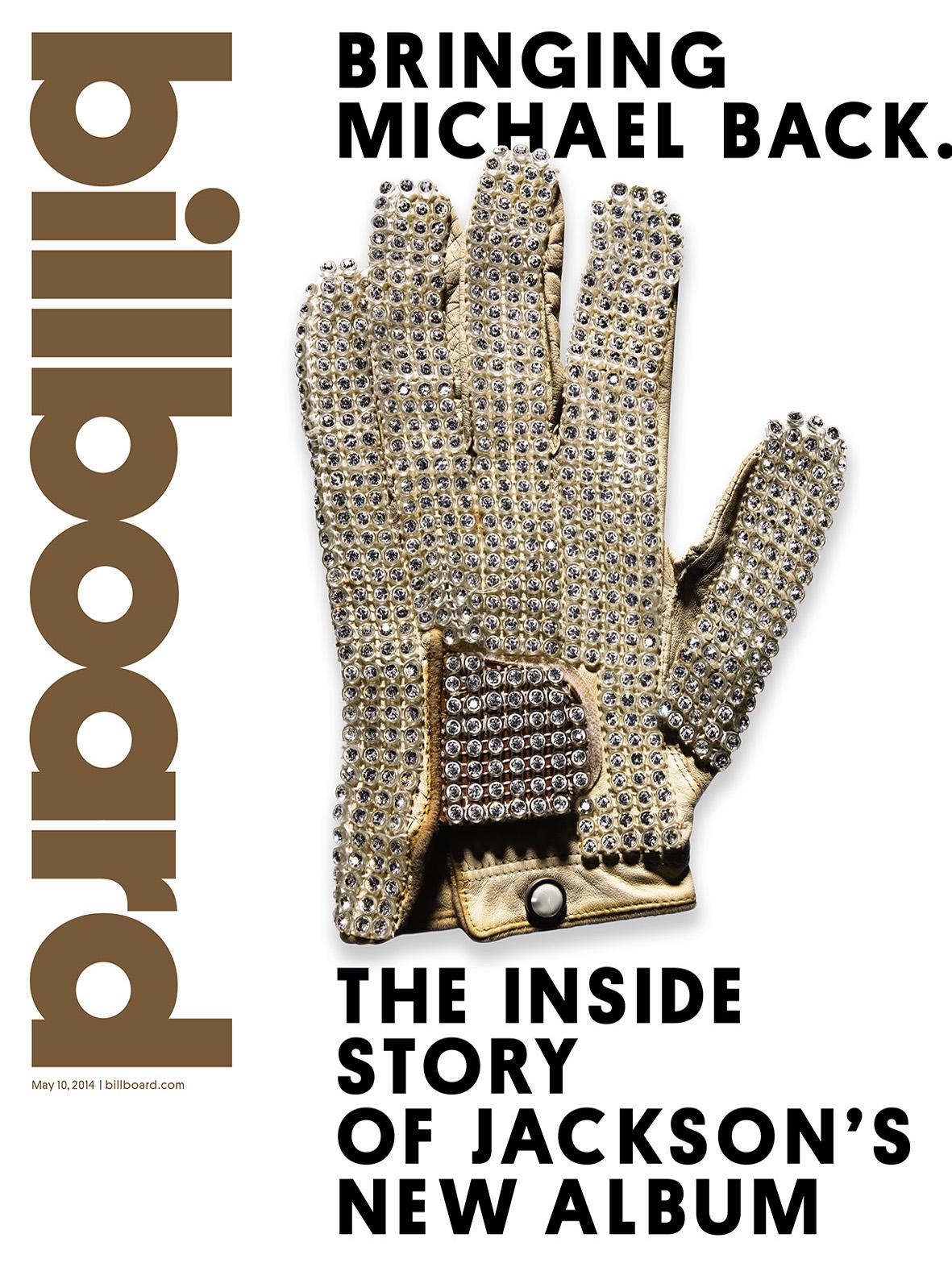 Billboard Issue 15 Cover Jackson Glove - P 2014