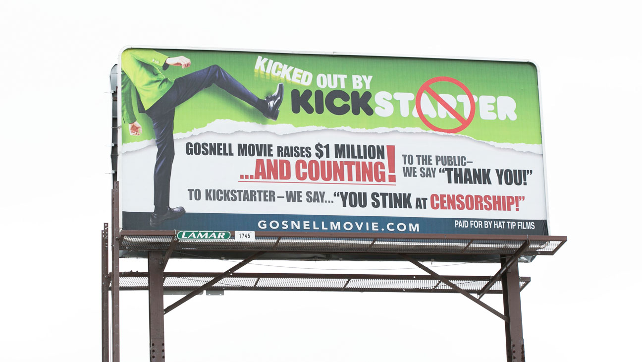 Gosnell Kickstarter Billboard - H 2014
