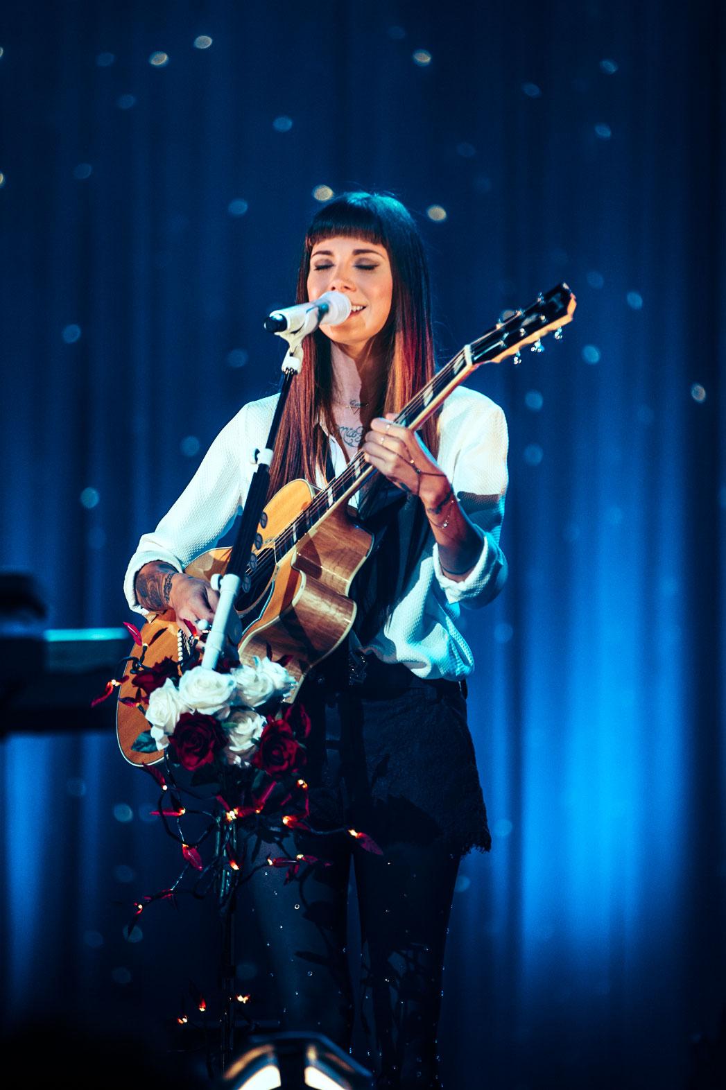 Christina Perri Performing Wiltern - P 2014