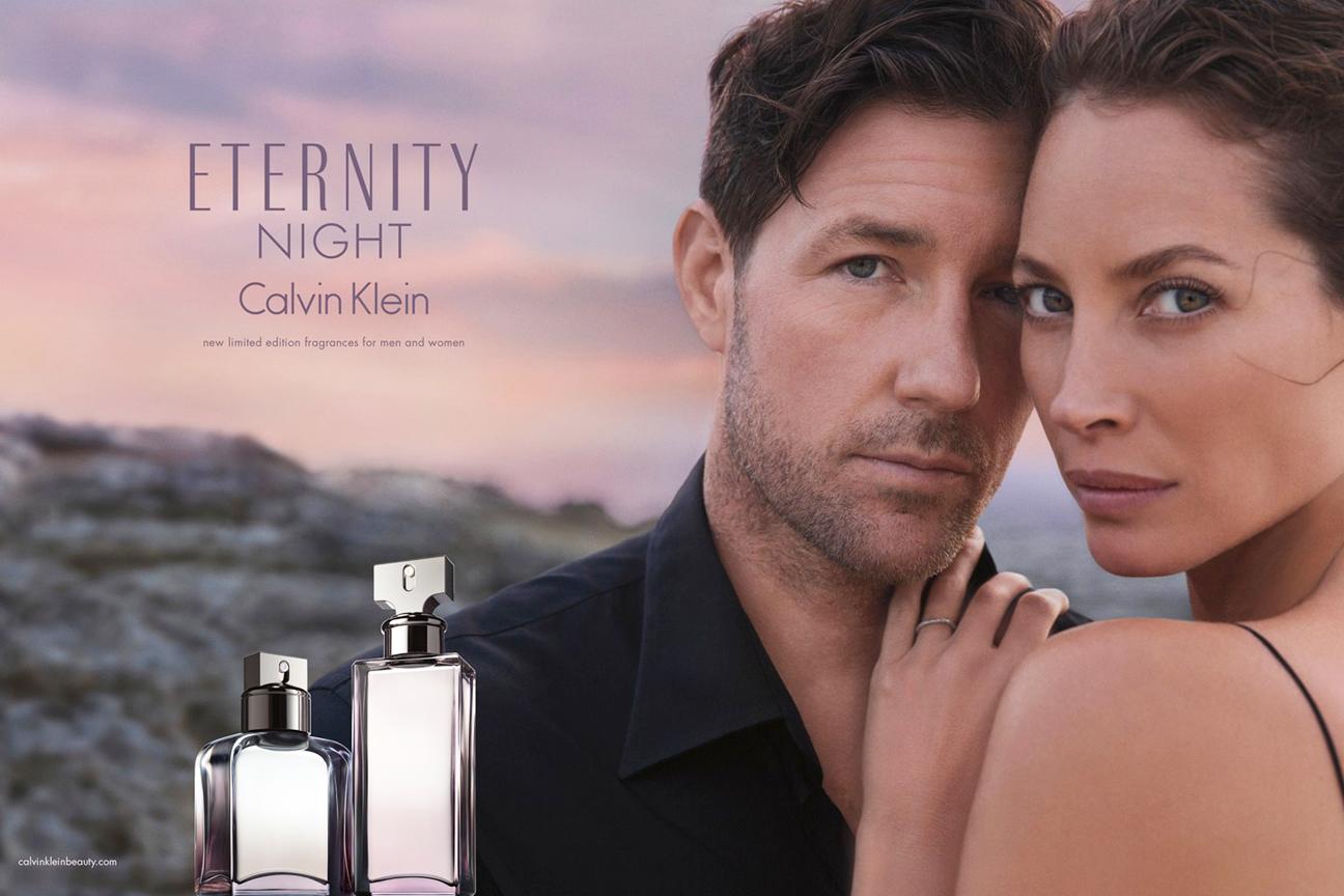 Christy Turlington Ed Burns Calvin Klein Eternity Ad - H 2014