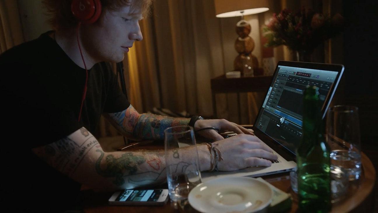 Ed Sheeran Beats Hotel Room - H 2014